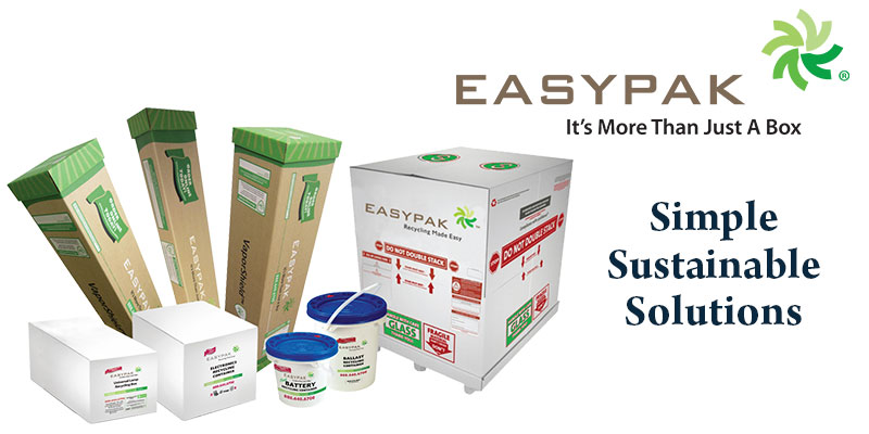 Air Cycle's EasyPak Lamp Recycling Boxes Beat out the Competition