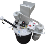 bulb eater 3 drum top lamp crushing system by air cycle corporation